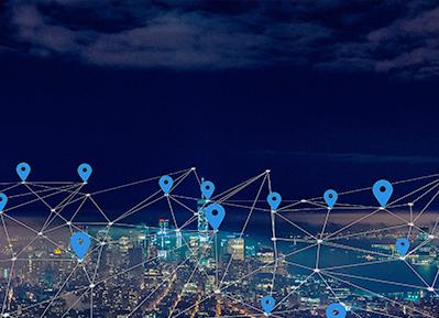智慧城市商圈
