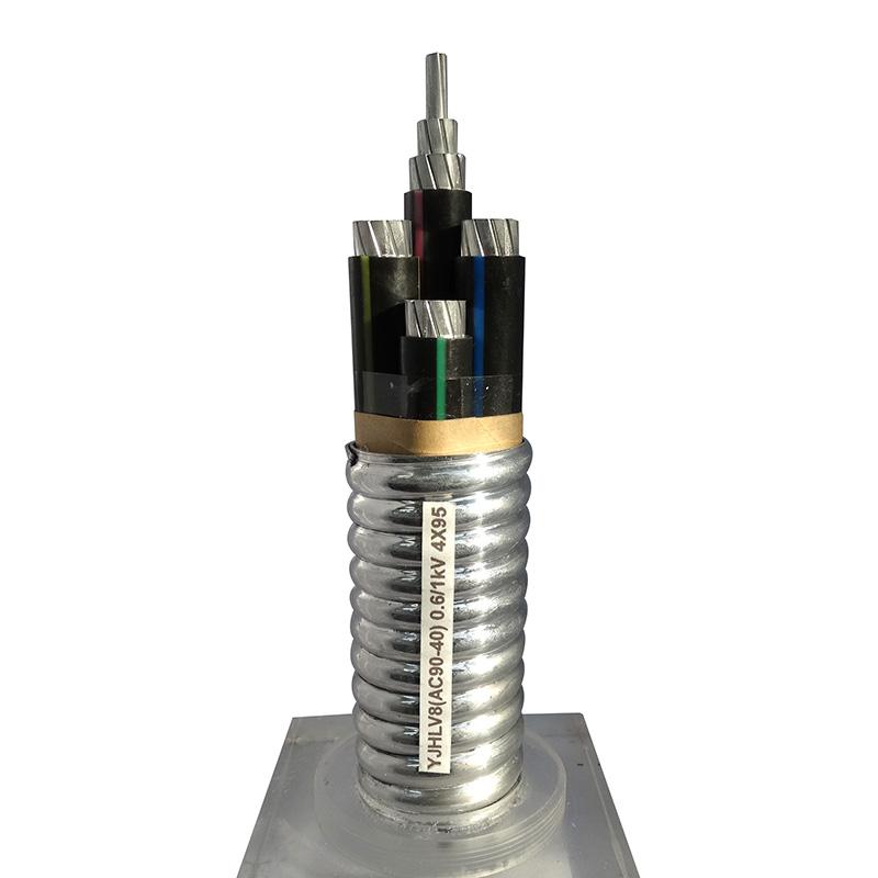 铝合金电缆 YHLY8/AC9040)0.6/1WV 4X95