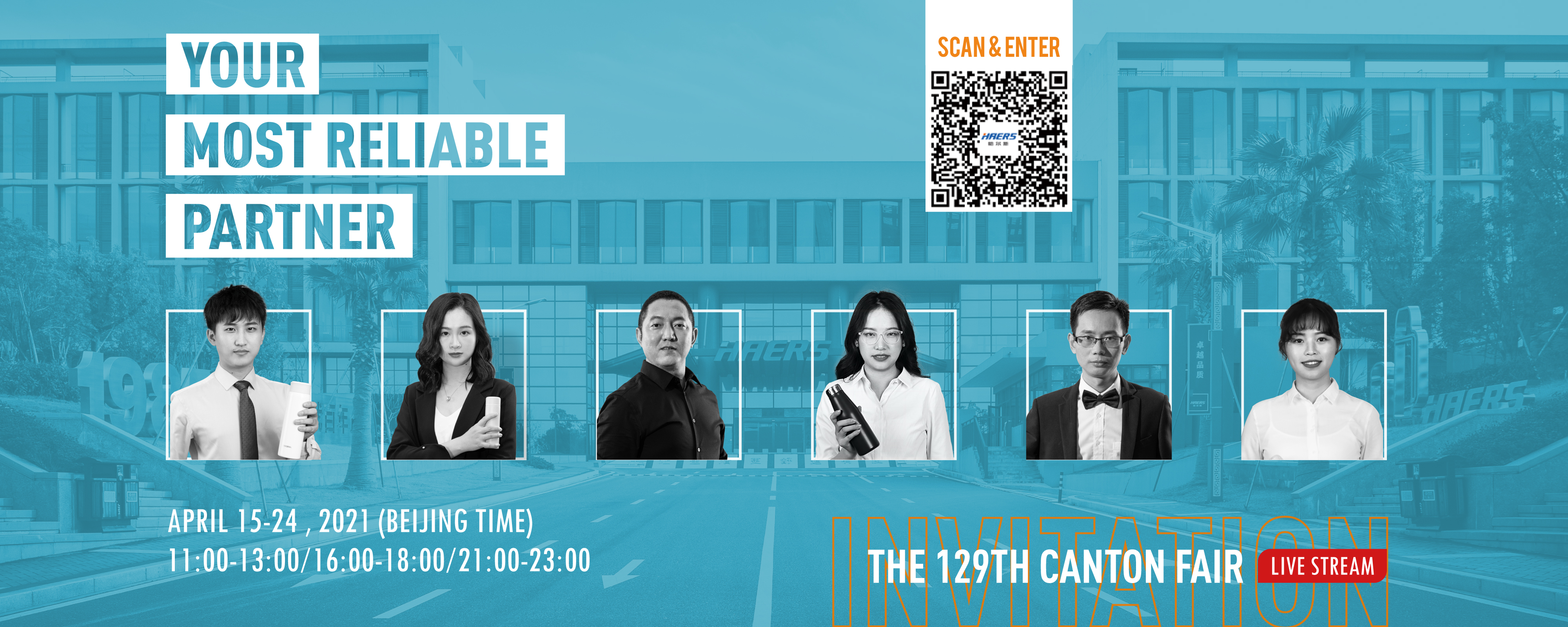 The 129th Canton fair will soon conclude,make it a real success