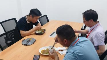 添邦电力集团员工食堂正式运营