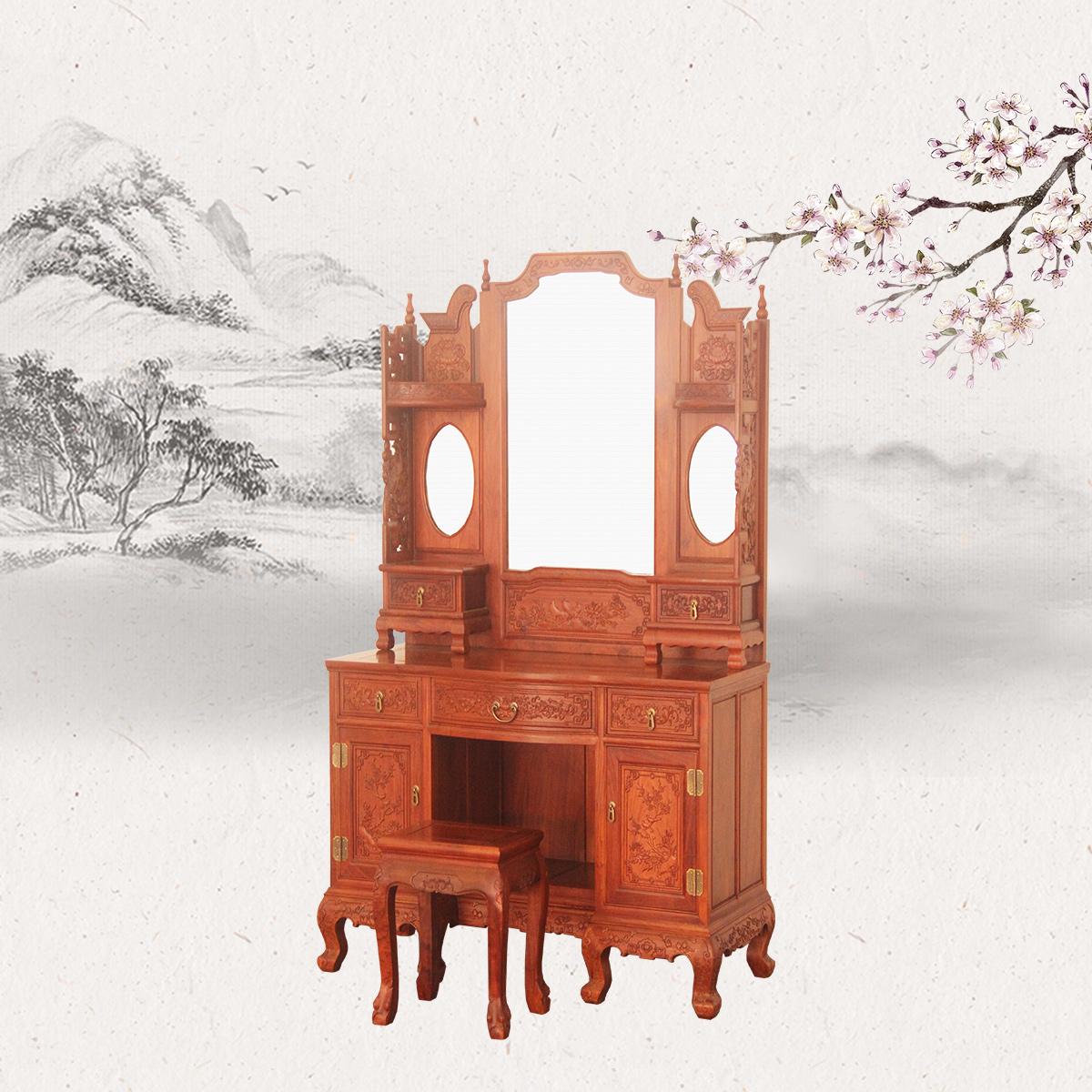 古典梳妆台