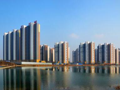 银川民生蔚湖城高层住宅