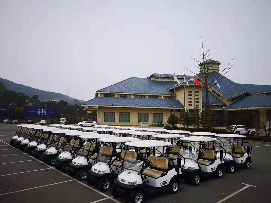 大連西郊鄉村體育俱樂部-電動高爾夫球車