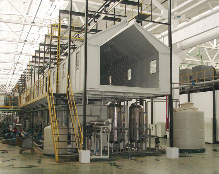 型材表面处理红外辐射加热系统