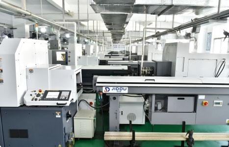 The CNC production workshop