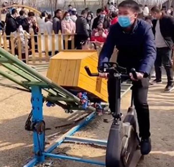 2021景区新型网红游乐设备无动力过山车