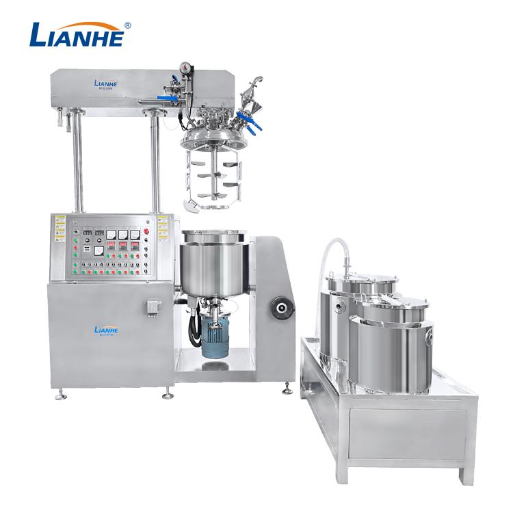 VME-100L Vacuum Emulsifying Mixer-Buttom Homogenizer Design