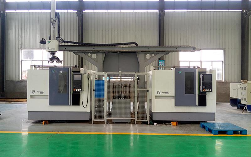 桁架式工业机器人法兰生产线