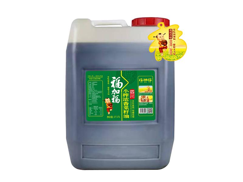 福加福小榨浓香菜籽油