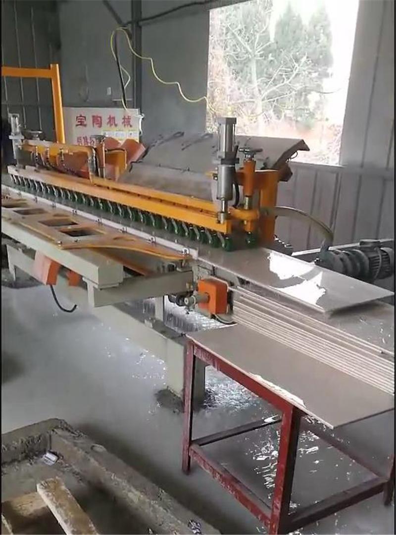 【干货】瓷砖磨边机出现大小头的解决办法