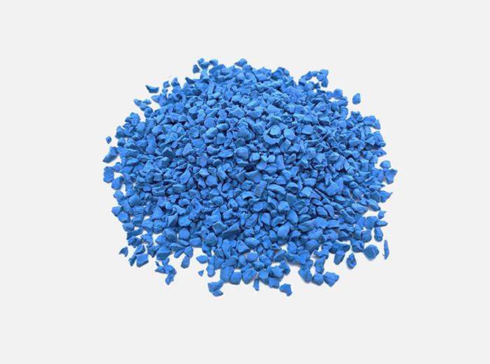 EPDM橡膠顆粒珊瑚藍 BL-02