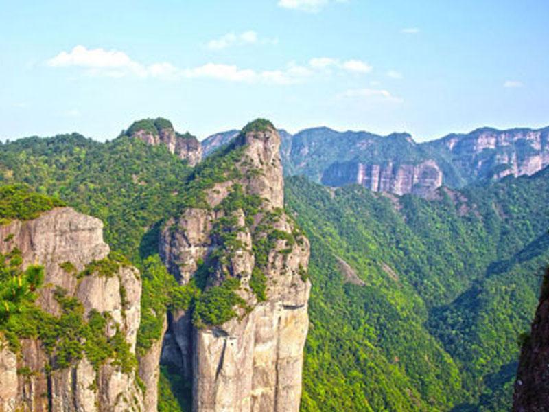 浙江台州神仙居景区自动扶梯项目