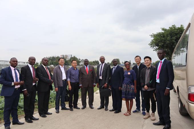 2019年10月国外非洲乌干达参观来四川竞博app官方下载ios农业