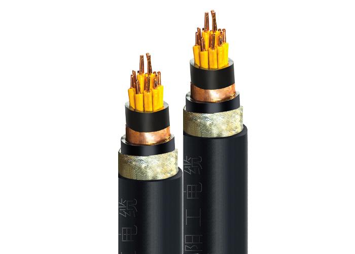 KVVP2-22 聚氯乙烯絕緣聚氯乙烯護套銅帶屏蔽鋼帶鎧裝控製電纜