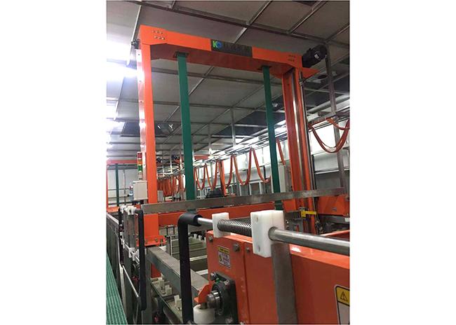 ABS龍門式掛鍍鎳鉻生產線