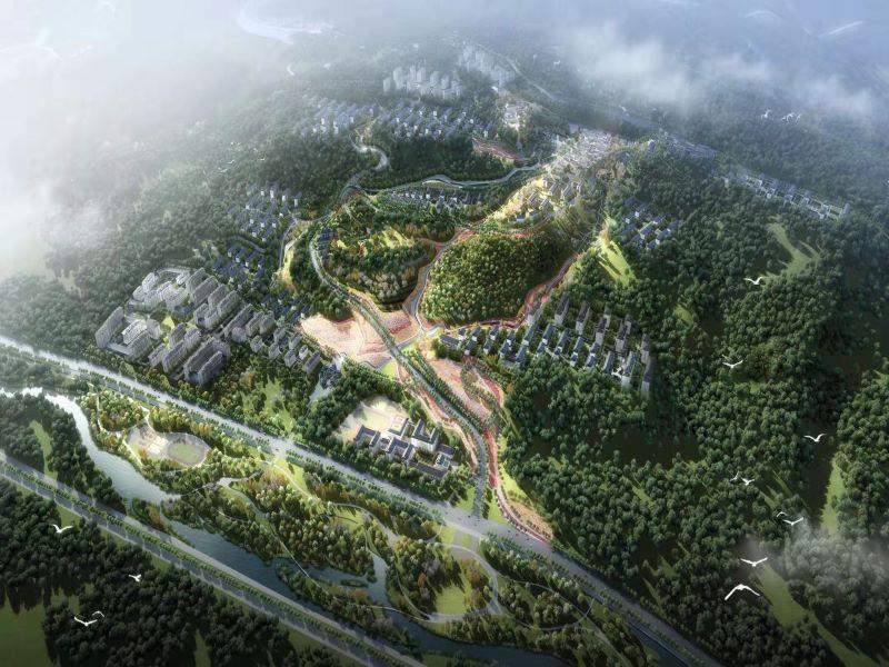 白鹿原文化村项目控制性详细规划