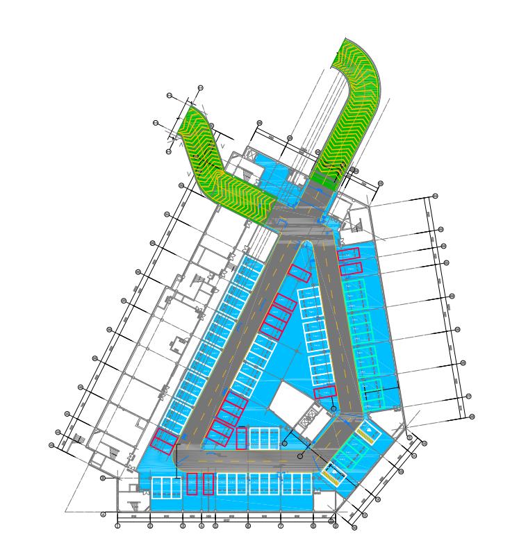 延安新区保障性住房地下车库装修项目设计