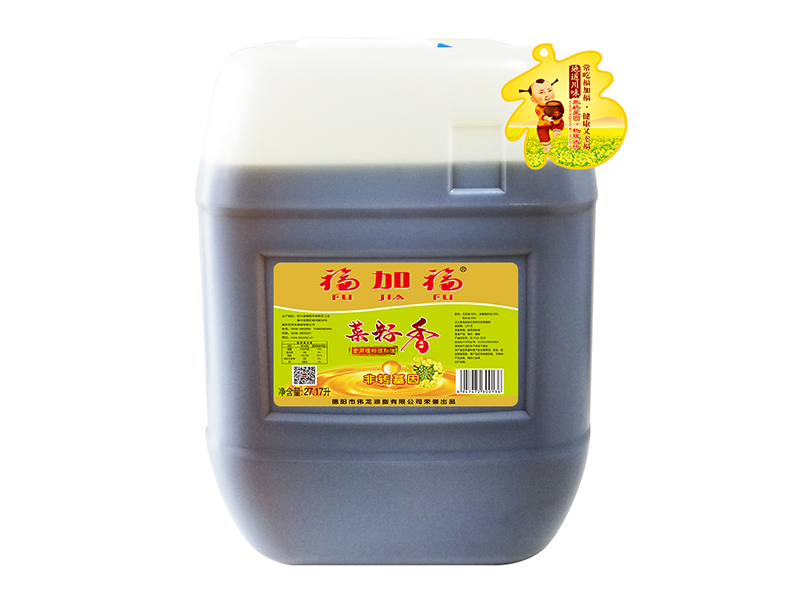 福加福27.17L(小口方桶)菜籽香食用植物调和油