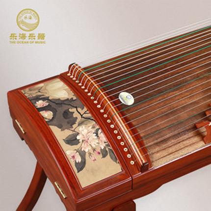 古筝乐器专业演奏级奥氏黄檀木冰清玉洁图专家监制古筝琴QG14H-BY