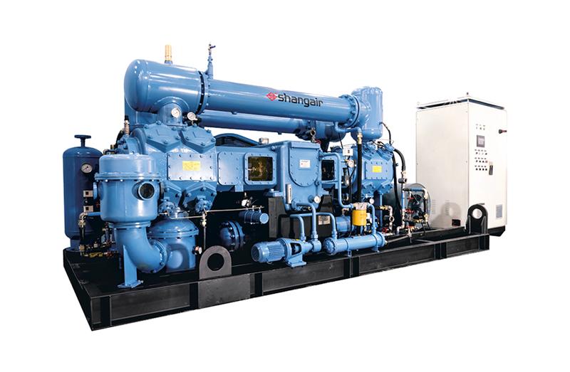 M系列對置平衡水冷無油中高壓空壓機