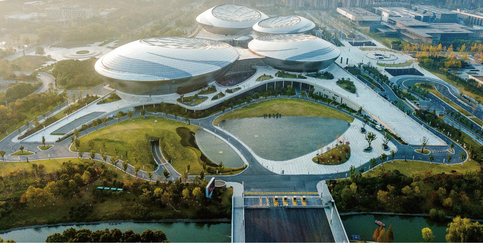 江苏大剧院室外绿化景观工程