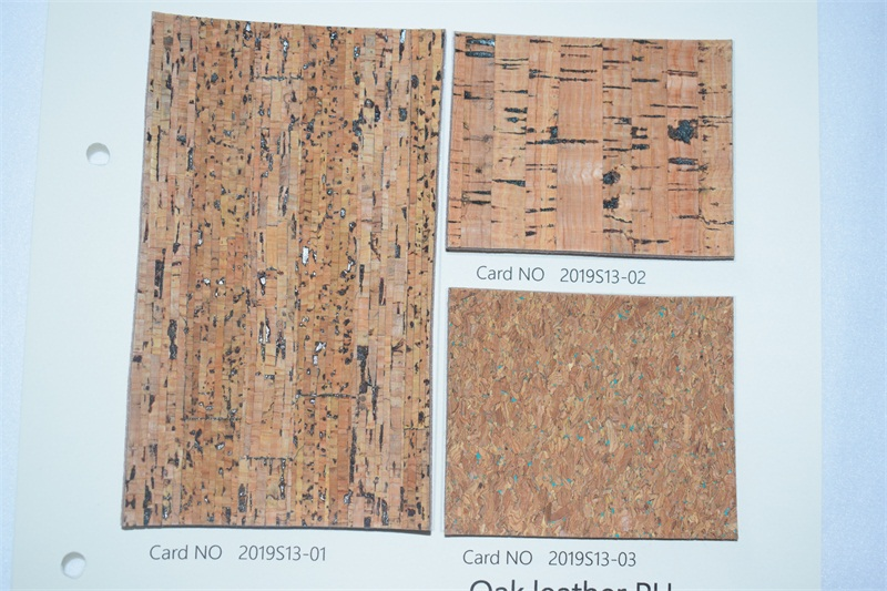 Bark synthetic leather
