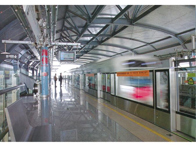 广州地铁4号线海傍站