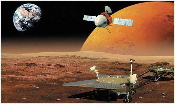 天問一號登陸火星烏托邦平原,數家媒體大贊四方超輕材料!