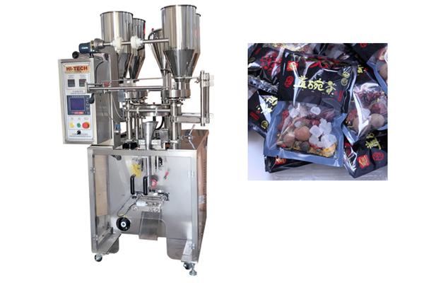 茶叶包装机 全自动多物料八宝茶包装机