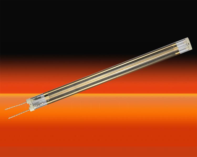 中波孪管镀金红外辐射器