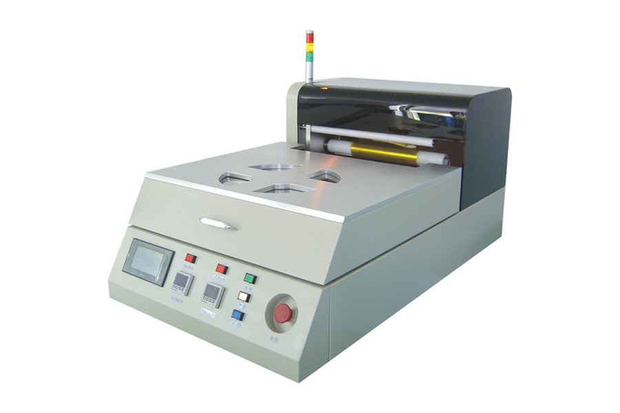 AM-64手动减薄贴膜机