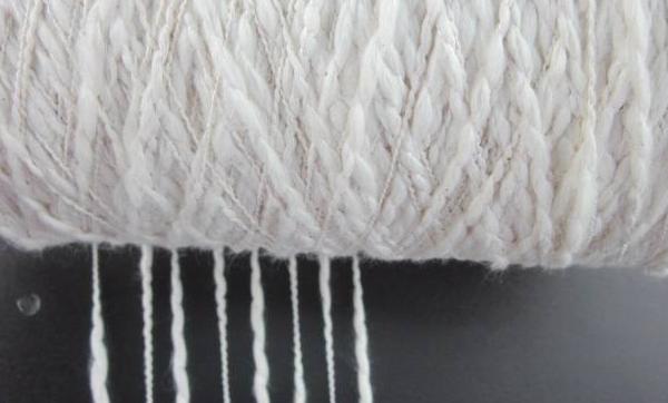 关于纱线的细度指标
