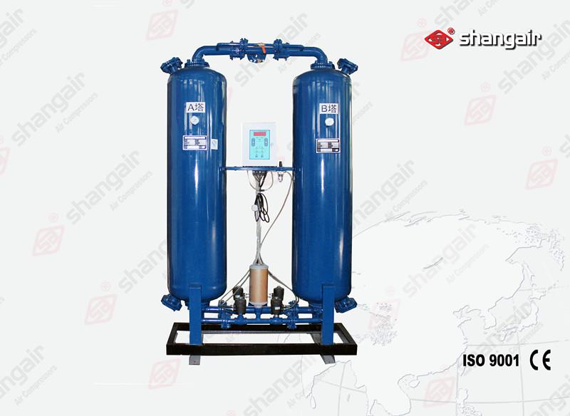 WZ系列有熱無熱再生吸附式干燥機