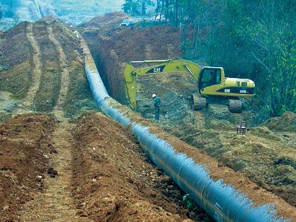 中石化川气东送天然气管道工程
