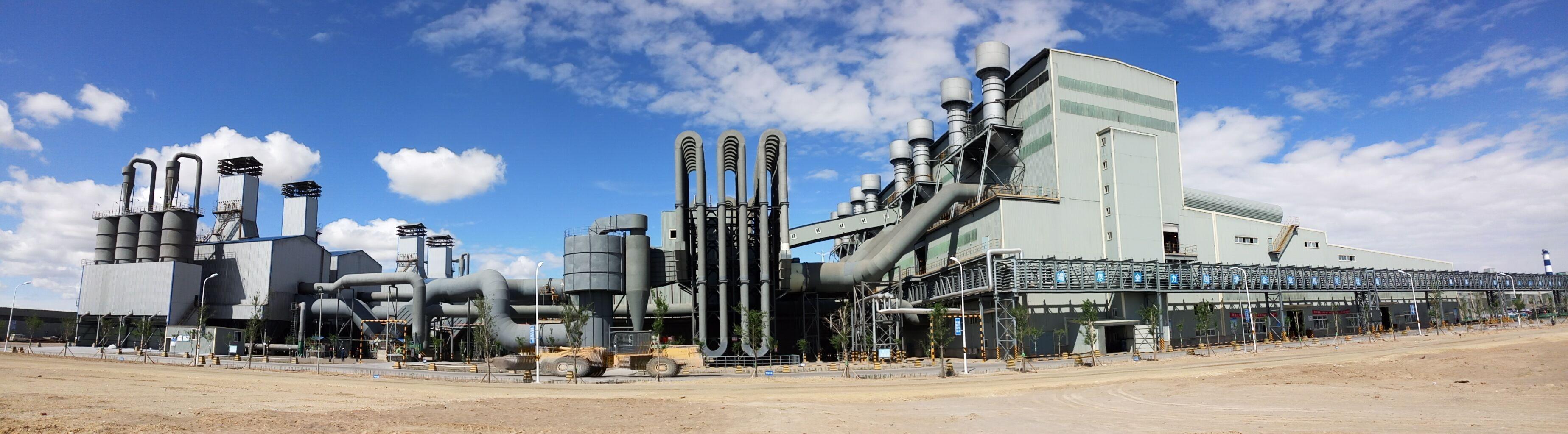 1-33000kVA工业硅矿热炉烟气净化除尘系统工程