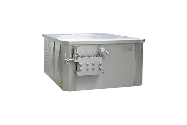 Large-scale horizontal high pressure homogenizer (manual pressure regulation)