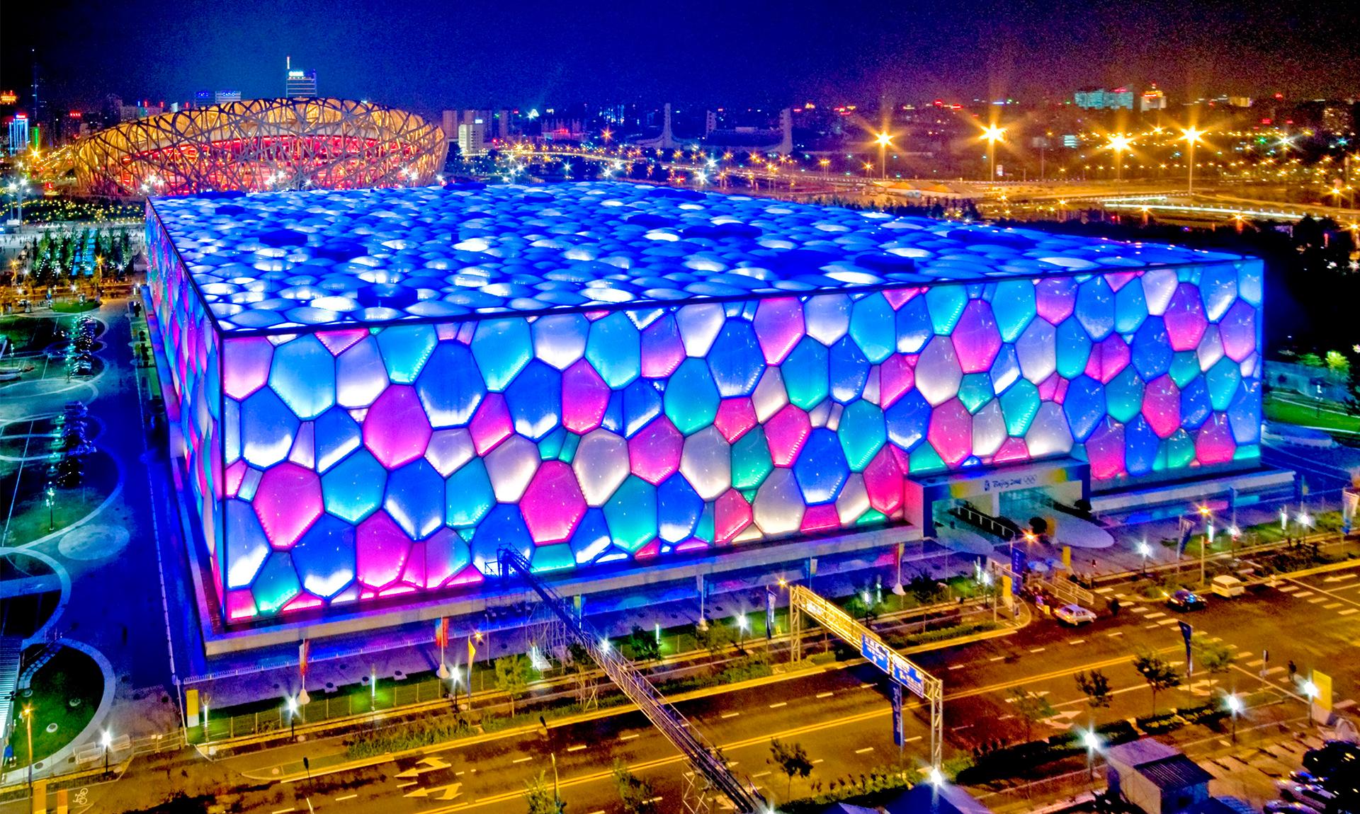 北京奥运会国家游泳馆
