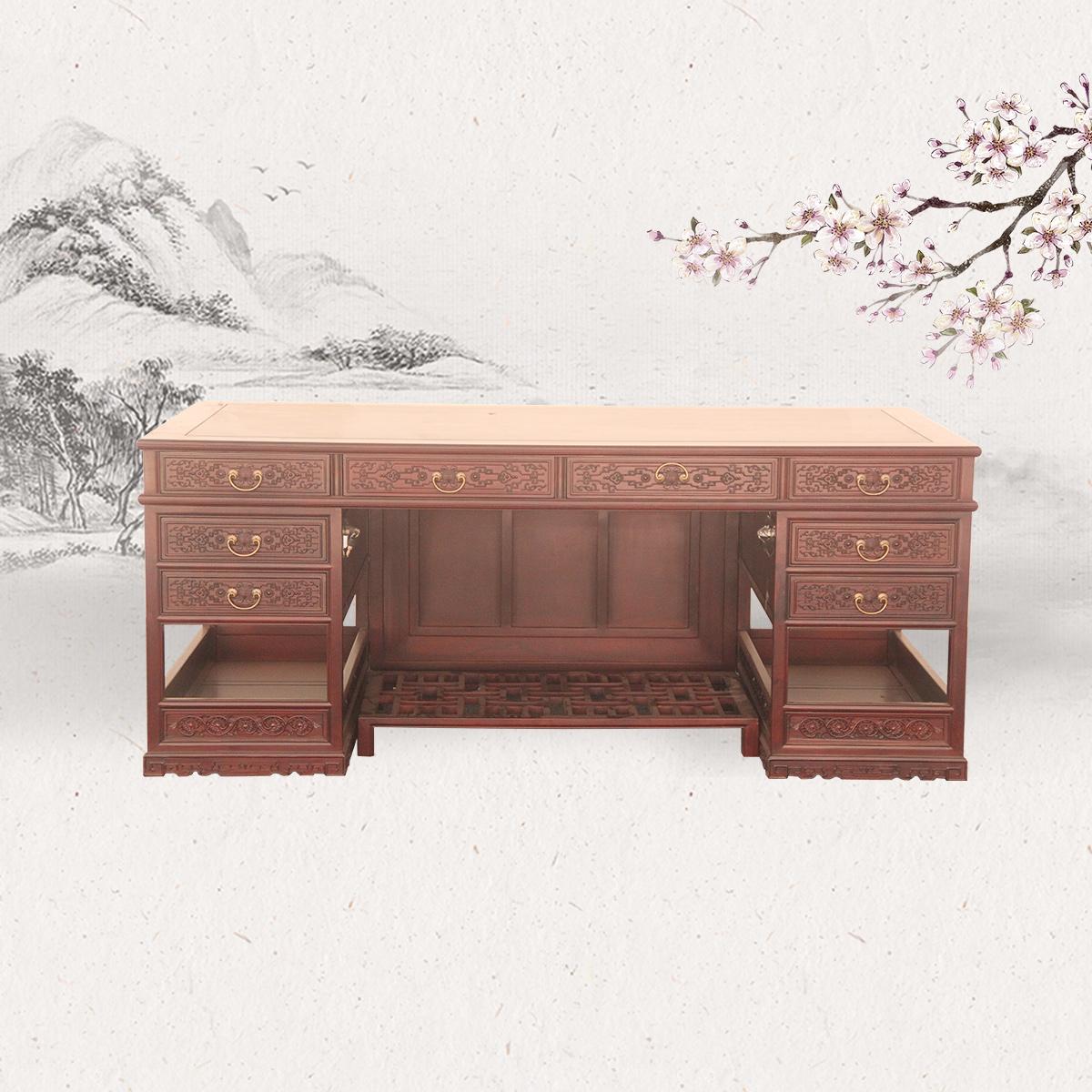 中式写字台