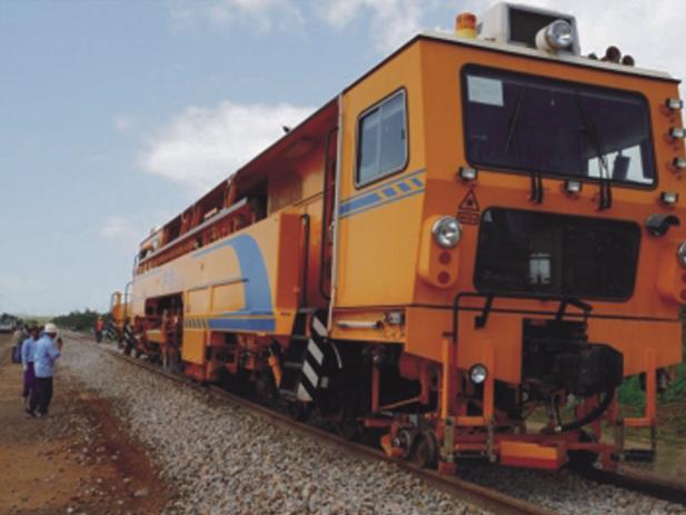 委内瑞拉FMO铁路养护项目(铁矿专用线施工)