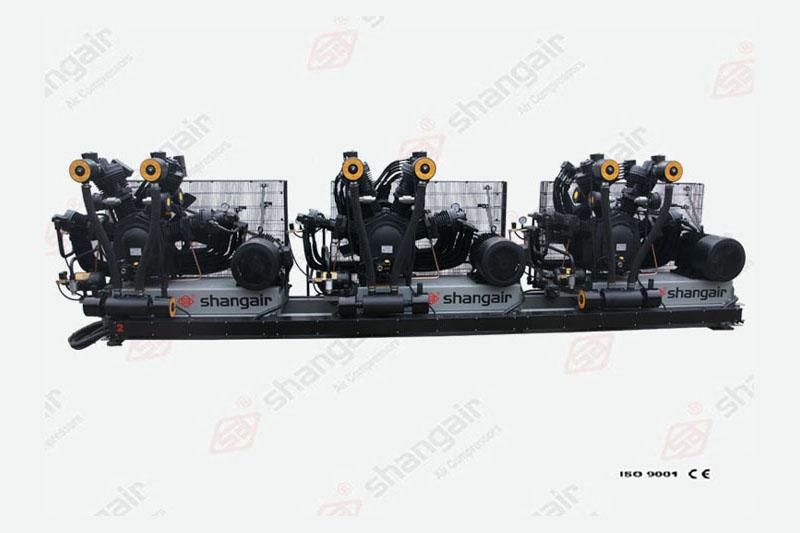 83SW系列無油空壓機(三機)
