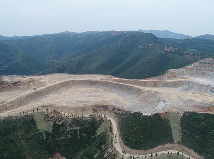 陕煤生态水泥有限公司矿石开采总承包工程