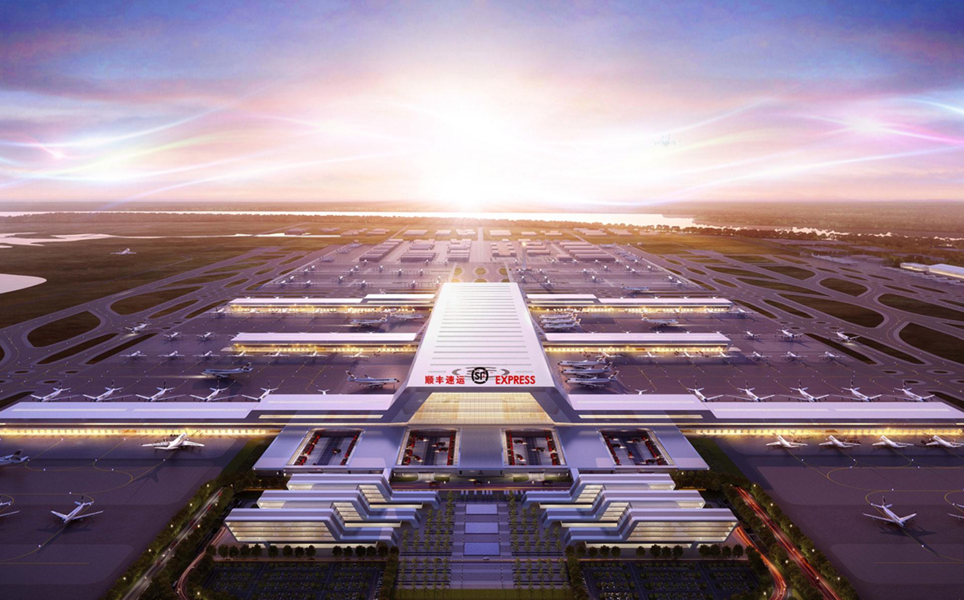 湖北鄂州.民用机场(顺丰国际)