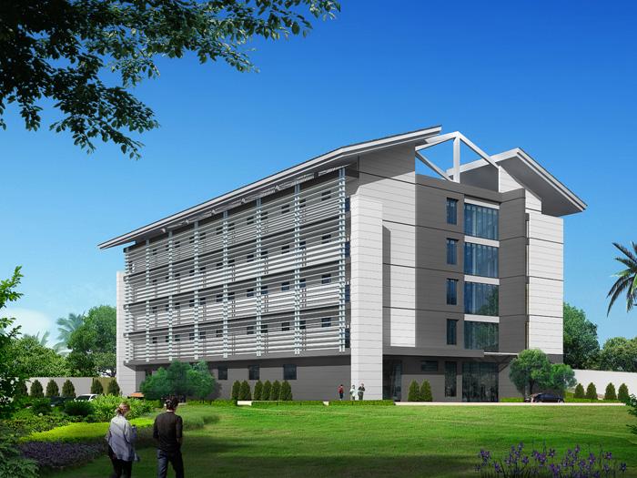 廣西東盟信息交流中心一期建設項目通信樞紐樓總包工程