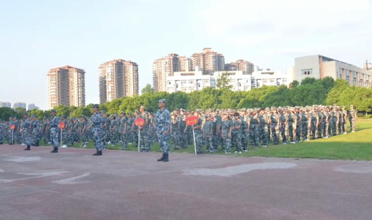 2018年開學第一天和軍訓