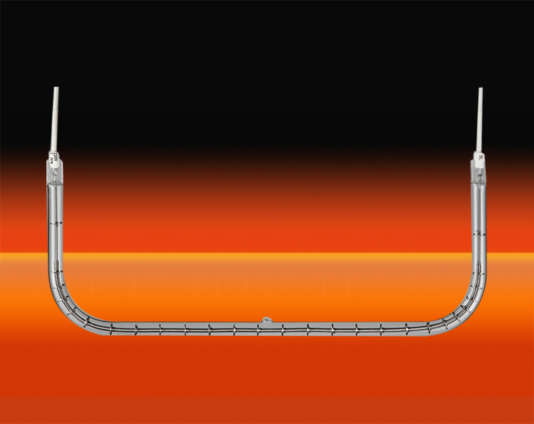 短波单管U型红外辐射器