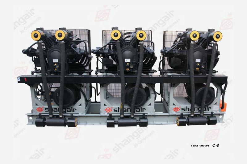 09SH系列空氣壓縮機(立式三機)