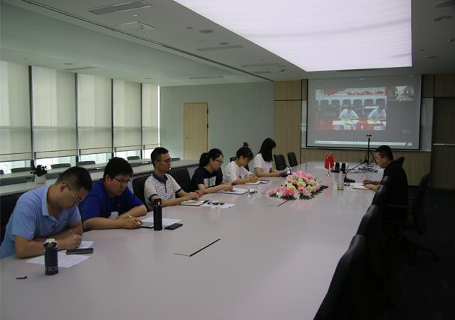 上海华体会体育集团第一党支部召开 党史学习教育专题组织生活会