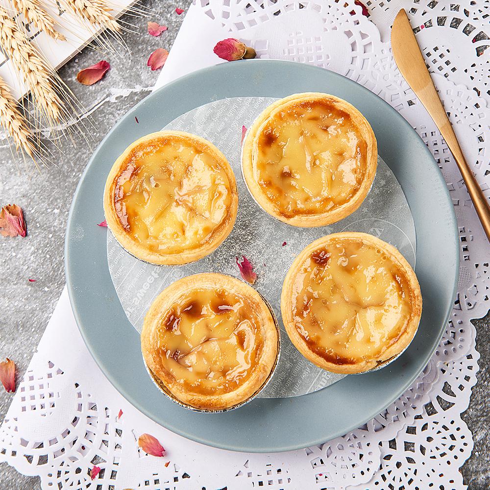 玫瑰花蛋挞