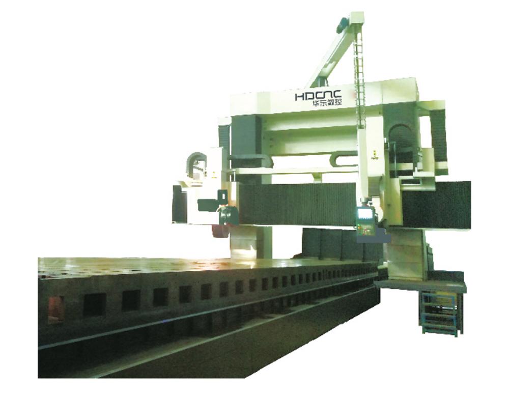 MKW52系列动梁式数控龍門導軌磨床