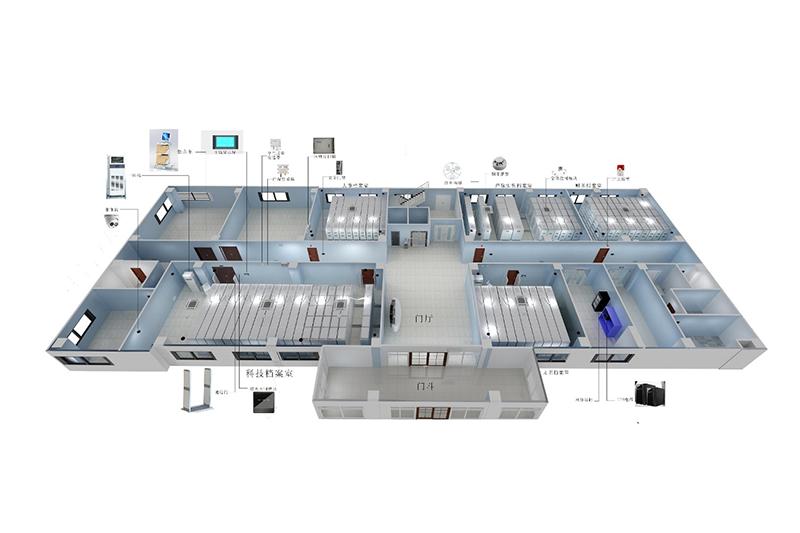 智慧档案库房一体化管控平台